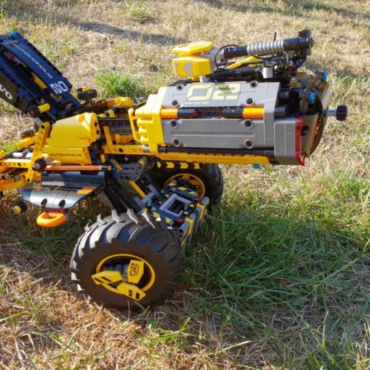 let s build 42081 volvo konzept radlader zeux