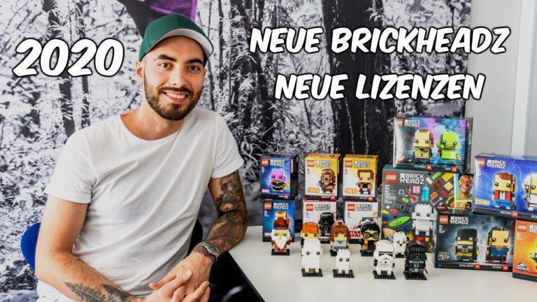 neue lizensierte brickheadz für 2020 durch marcos bessa
